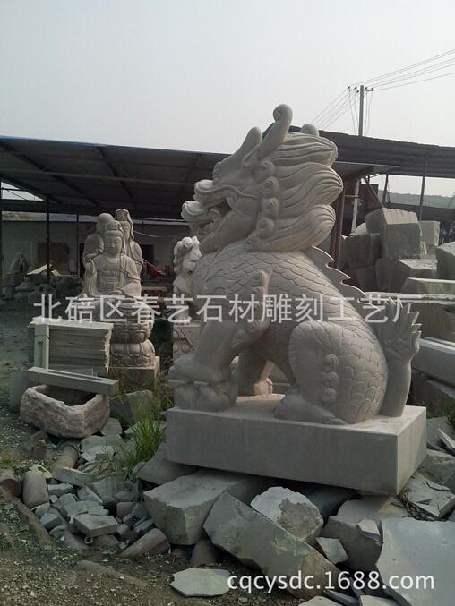 石雕动物雕刻