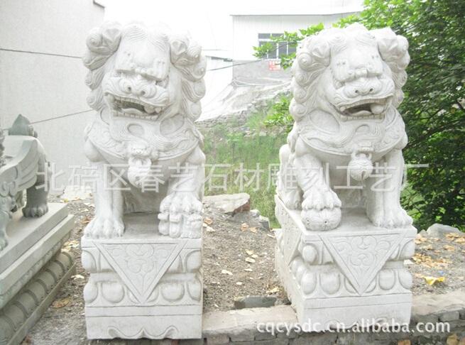 仿古石雕石狮