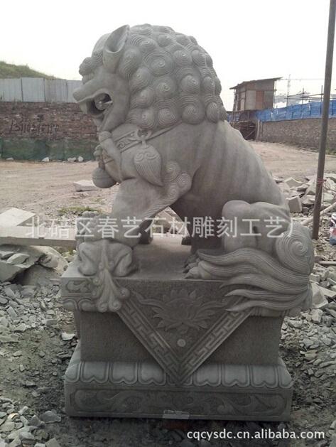 石狮园林石雕