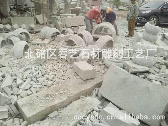 高质量柱础石