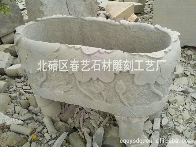 高质量石水缸
