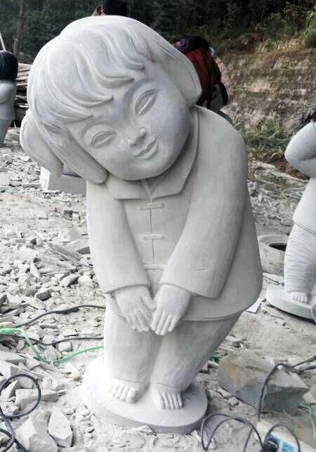 人物雕塑(梦娃、中国梦)