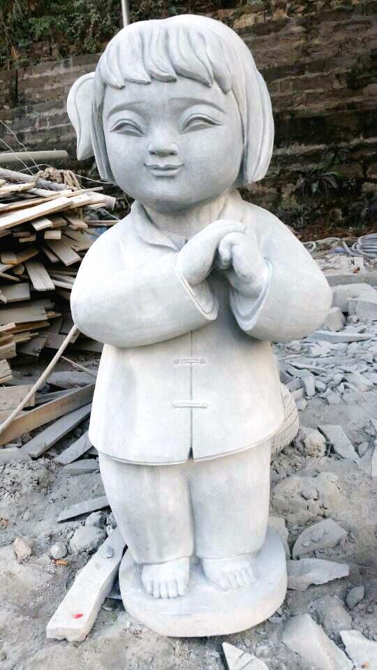人物雕塑(梦娃,中国梦)